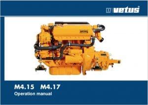 Vetus M4.15 marine diesel engine Operation manual