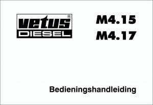 Vetus M4.15 Operation Manual in Dutch