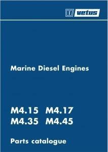 Vetus M4.15 marine diesel engine Parts Catalogue