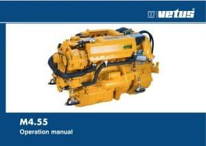 Vetus M4.55 marine diesel engine Operation Manual