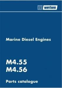 Vetus M4.55 marine diesel engine Parts Catalogue