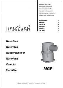 Vetus MGP exhaust Waterlock Installation Instructions