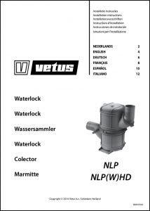 Vetus NLP Waterlock Installation Instructions
