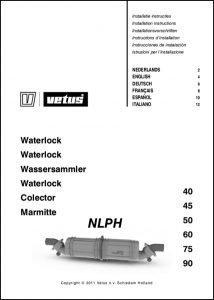 Vetus NLPH Waterlock Installation Instructions