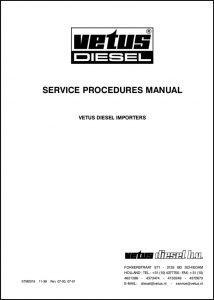 Vetus diesel engine Services Procedure Manual