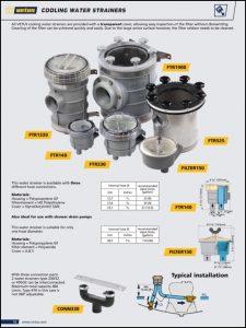 Vetus Raw Water Strainers Catalogue