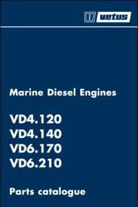 Vetus D-Line VD 4.120 marine diesel engine Parts Catalogue