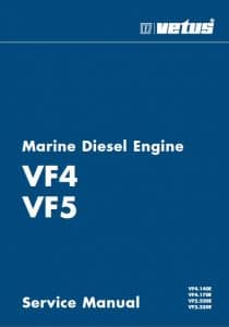 Vetus diesel engine VF4 service manual