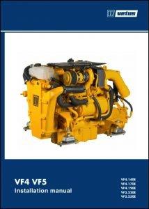 Vetus VF4.140E Marine diesel engine Installation Manual