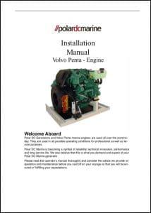 Volvo D1-13 etc marine diesel engines Installation Manual