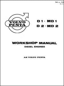 Volvo D1 Diesel Engine Workshop Manual