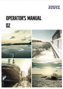Volvo D2 Marine Diesel Engine Operator Manual 2017