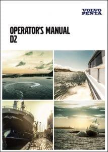 Volvo D2 Marine Diesel Engine Operator 2018