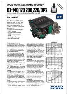 Volvo D3-140 diesel engine Brochure