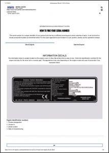 Volvo diesel Engine Find Serial Number Guide