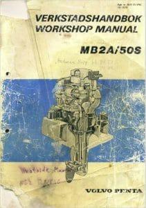 Volvo diesel engine MB2-50S Workshop Manual saildrive