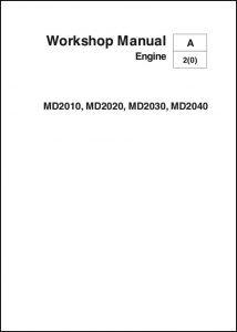 Volvo MD-2010 diesel engine Workshop Manual 2006