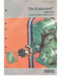 Volvo marine diesel engine MD2010 Operator manual