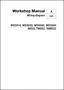 Volvo MD2010 Workshop Manual Wiring Diagrams
