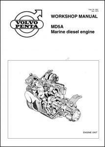 Volvo MD5A diesel engine Workshop Manual