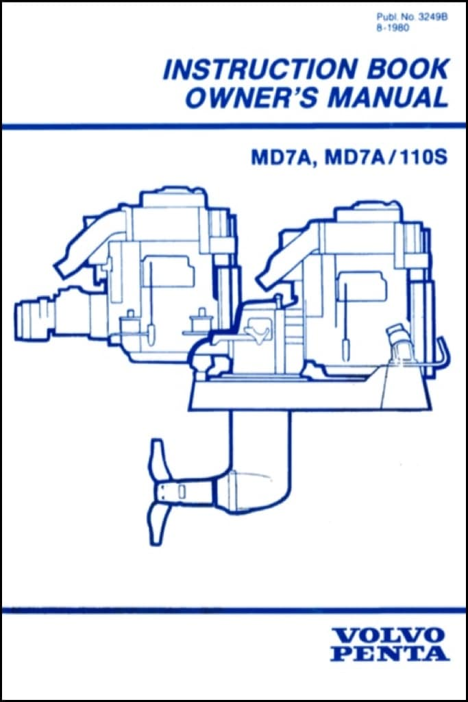Volvo MD7A 110S marine diesel engine Instruction Book & Owner's Manual -  MARINE DIESEL BASICS | Volvo Md7a Wiring Diagram |  | Marine Diesel Basics
