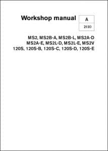 Volvo Diesel Engine MS2-SD120 Workshop Manual