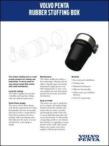 Volvo Rubber Stuffing Box Brochure