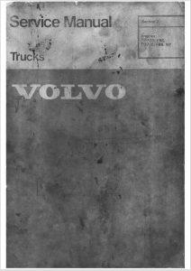 Volvo TD70D diesel engine Service Manual