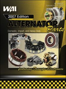 WAI Alternator Parts Catalog 2007