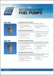 Walbro Continuous Pumps Guide