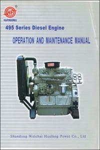 Weichai 495 Series diesel Engine Operation & Maintenance Manual