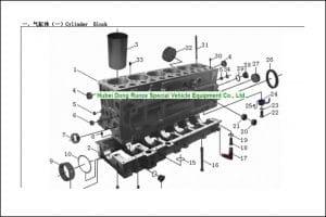 Weichai WD 615.34 diesel engine Parts Manual