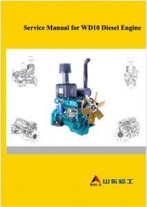 Weichai WD10 diesel engine Service Manual