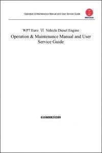 Weichai WP7 Diesel Engine Service Manual