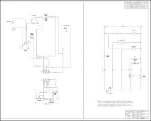 Westerbeke diesel engine 10A-1 Wiring Drawing