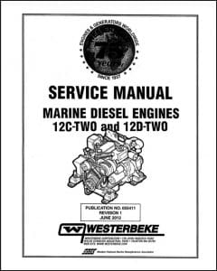 Westerbeke 12C Two Marine Diesel Engine Service Manual