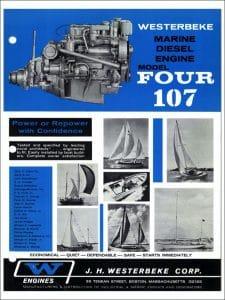 Westerbeke 4.107 marine diesel engine Brochure