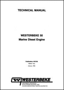 Westerbeke diesel engine 50 Service manual