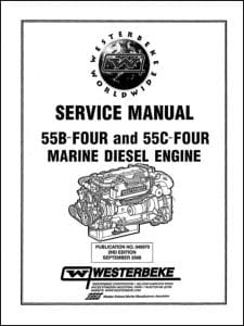 Westerbeke 55B Four Marine diesel Engine Service Manual