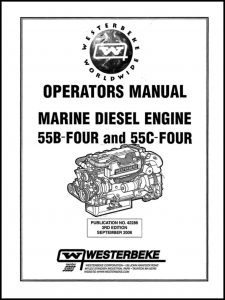 Westerbeke diesel engine 55B Operator Manual