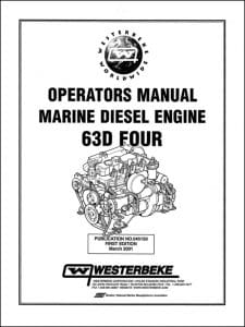 Westerbeke 63D Four marine diesel engine Operators Manual