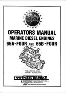 Westerbeke 65A Four Operator Manual 2014