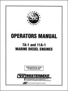 Westerbeke 7A-1 marine diesel engine Operator Manual
