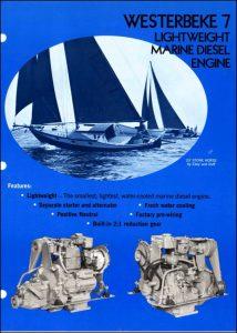 Westerbeke W7 marine diesel engine Brochure