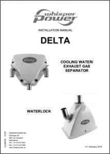 Whisper Power exhaust separator Delta Installation Manual