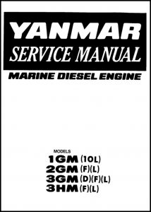 cover of Yanmar 1GM 2GM Service Manual