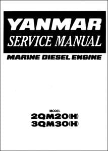 Yanmar Diesel engine 2QM20H Service Manual