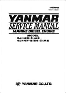 Yanmar 3JH4 Marine Diesel Engine Service Manual