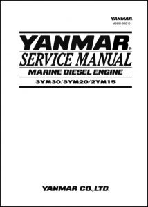 Yanmar 3YM30 Marine Diesel Engine Service Manual