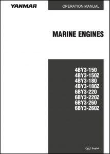 Yanmar 4BY3-150 Marine Diesel Engine Operation Manual